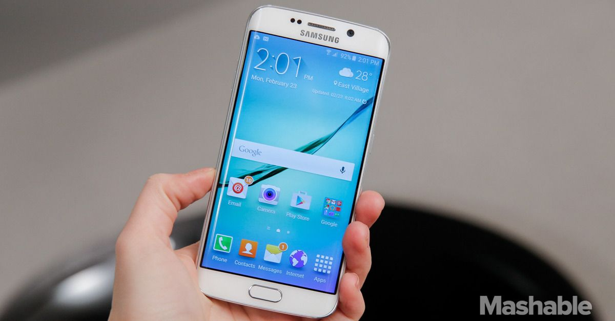 #Samsung introduced the Samsung Galaxy S6 and the Samsung Galaxy S6 Edge on Sunday, two sleek new smartphones that both feature the new Samsung Pay.