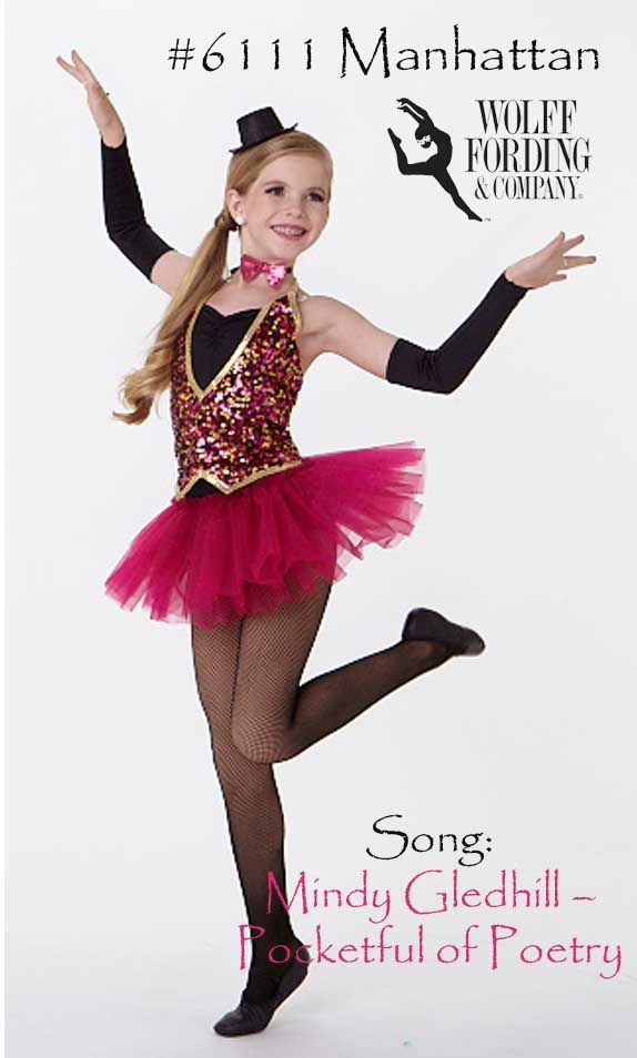 Dance Costume For Song Pocketful Of Poetry Don T Know It Check