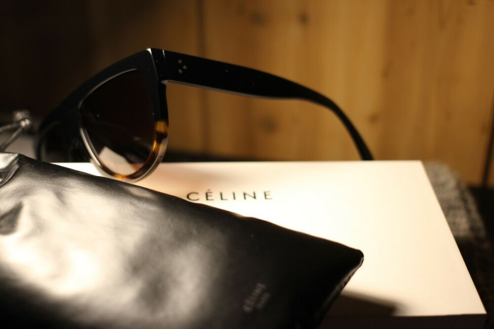 53860ffe20 Celine Black Flat Top Sunglasses 58mm - Pre-Loved - Authentic - Original  box  fashion  clothing  shoes  accessories  womensaccessories ...