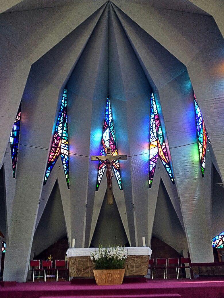 Iglesia De San Antonio De Padua Por Los Arquitectos Alberto  # Muebles Padua Salamanca