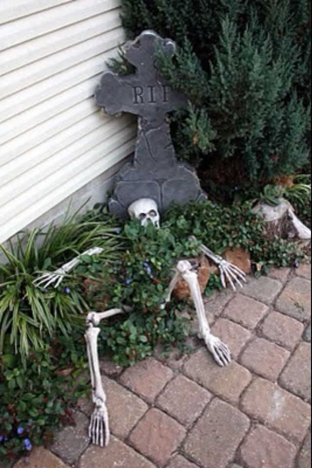Halloween Halloween Pinterest Halloween ideas, Holidays and - halloween decorations ideas yard