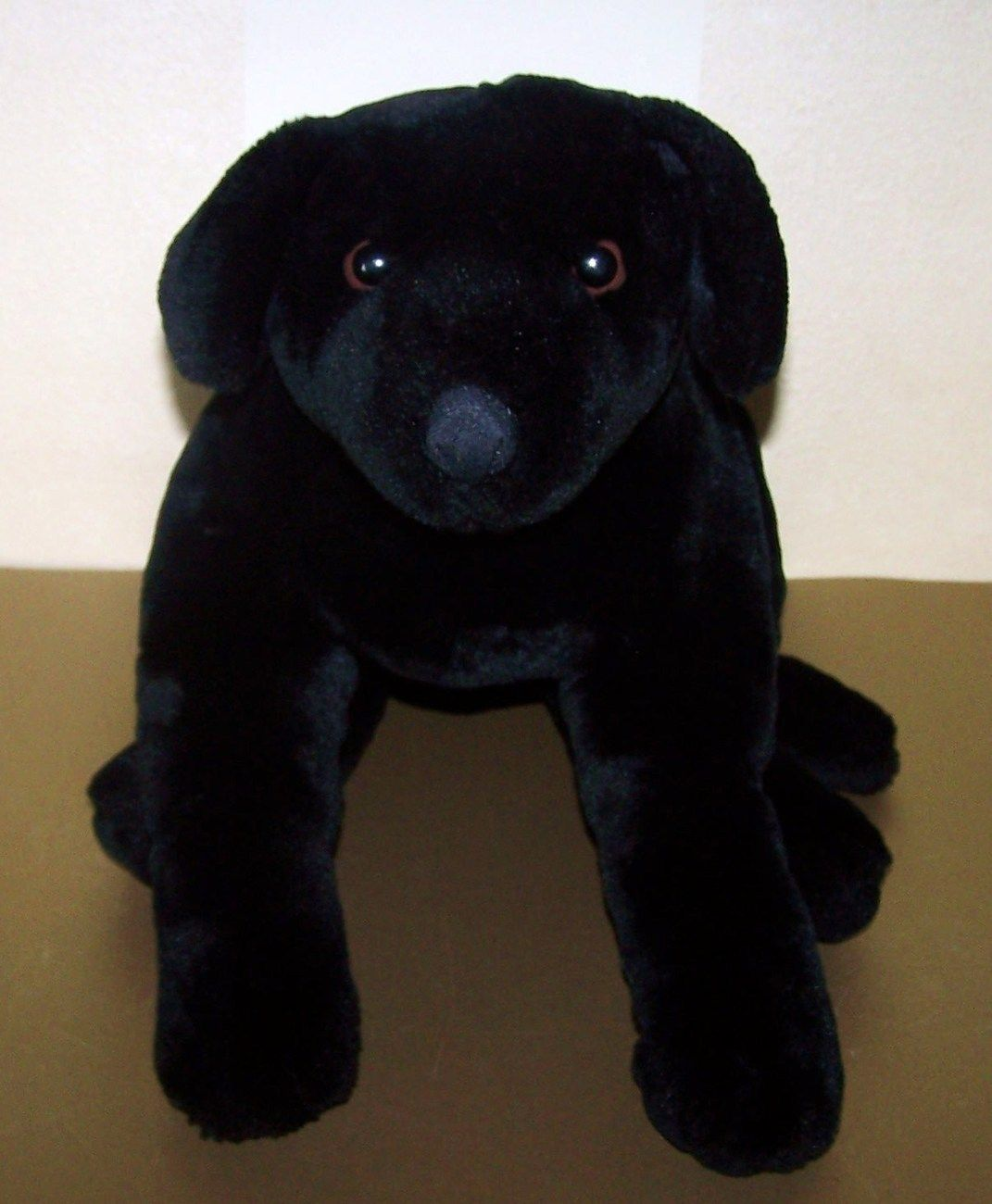 Large Black Labrador Plush Puppy Dog Stuffed Animal 12 00 Stuffed