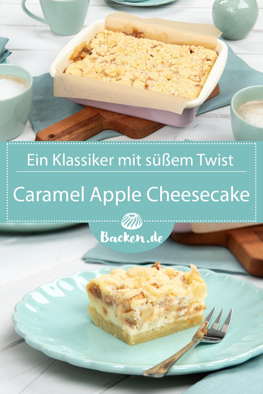 Caramel Apple Cheesecake #buttercream