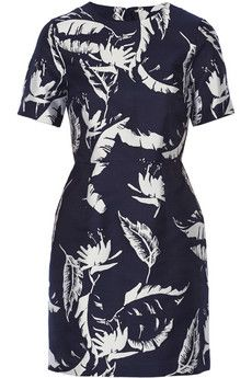 Adam Lippes Jacquard mini dress | NET-A-PORTER