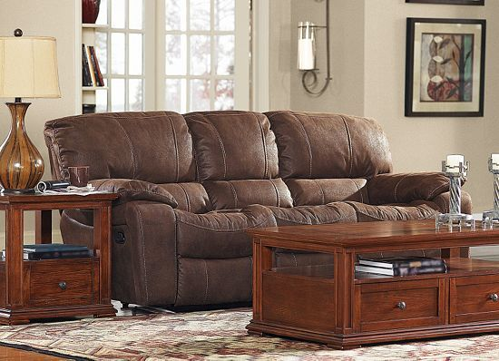 Living Rooms Bronson Reclining Sofa