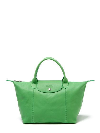 37b0ceef735d Le Pliage Cuir Leather Small Convertible Tote by Longchamp at Gilt ...