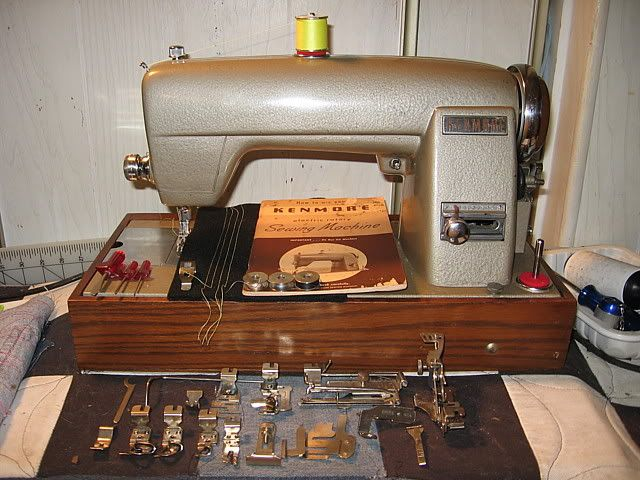 Kenmore Electric Rotary Sewing Machine Or 120 49 Is Here