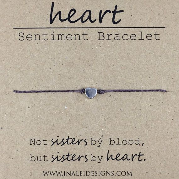 Like A Sister Friendship Bead Bracelet Dainty By InaLeiDesigns