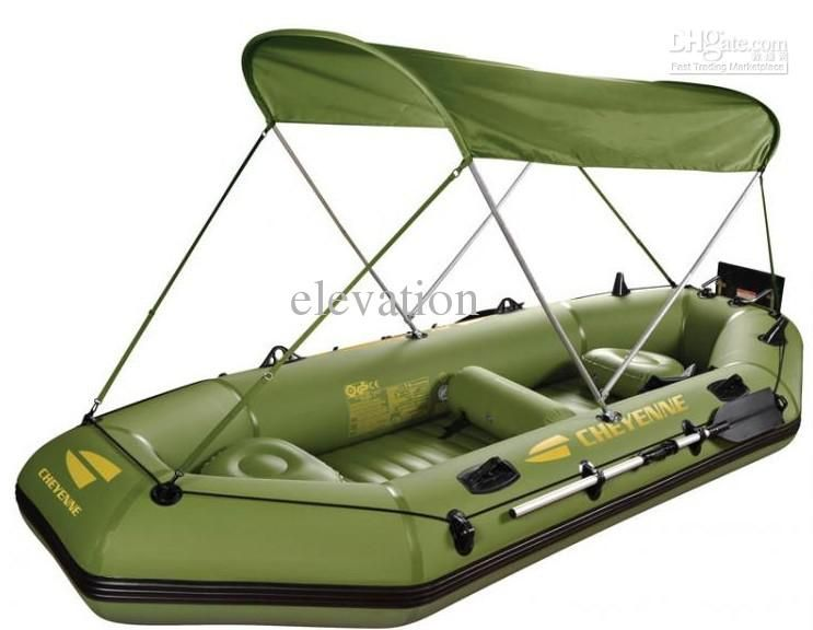 Bass Boat Shelters : Inflatable boat sun shade canopy fishing