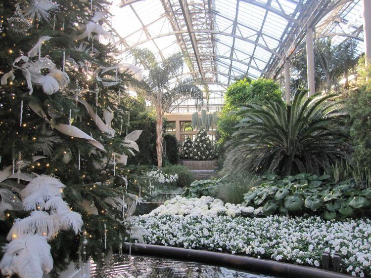 Christmas At Longwood Gardens. Longwood GardensConservatory PennsylvaniaPhiladelphia