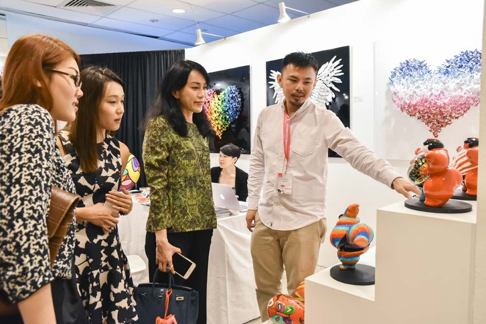Singapore, spring 2016 #AAFsingapore #ArtHappy #affordableartfair