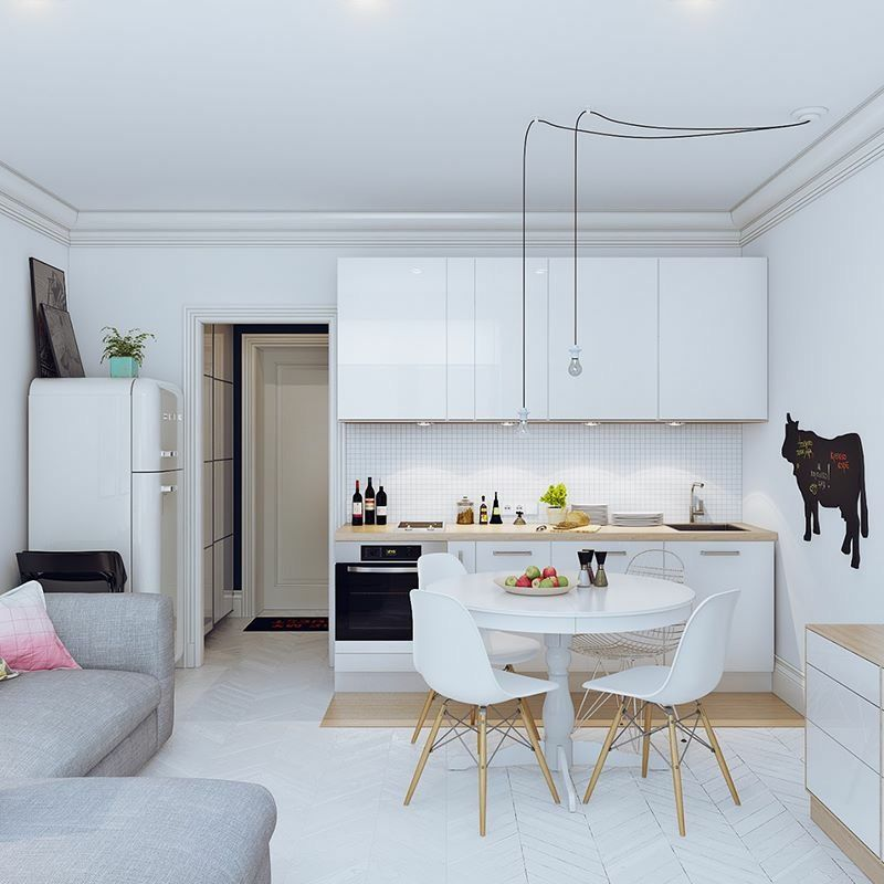 Pin de simi balajiu en home design generic pinterest for Decoracion cocina pequena apartamento