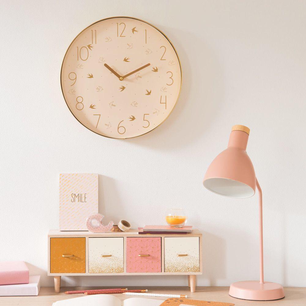Lampe De Bureau En Metal Rose Poudre In 2019 Home Sweet Home