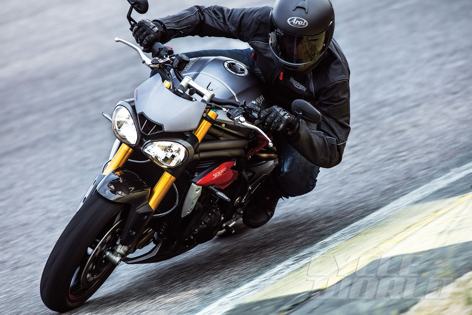 "2016 triumph speed triple – first look review <small class=""subtitle"
