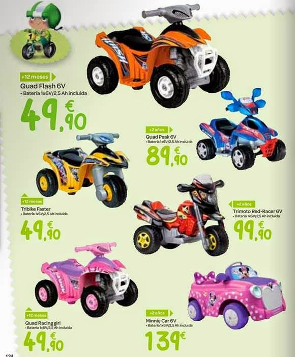 Vehiculos a bateria para navidad 2014 de carrefour for Casitas infantiles jardin carrefour