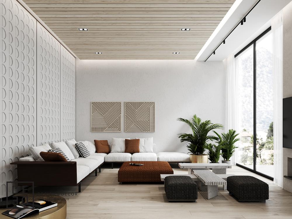 Luxury Classic China House Interior On Behance Villas Studio Casas