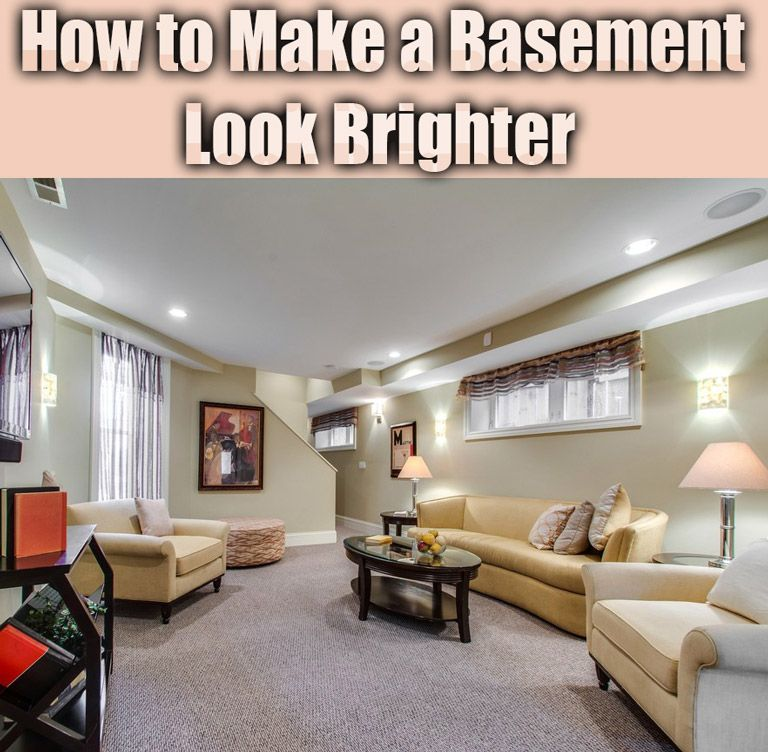 Best How To Make A Basement Look Brighter Small Basement 400 x 300