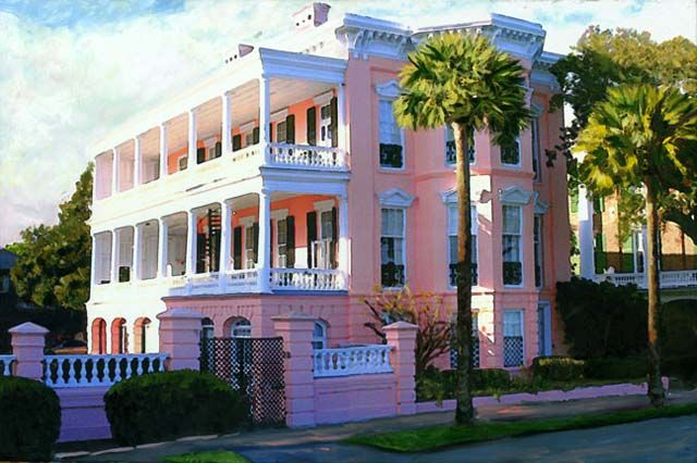 My Favorite Historic House In Charleston South Carolina The Palmer