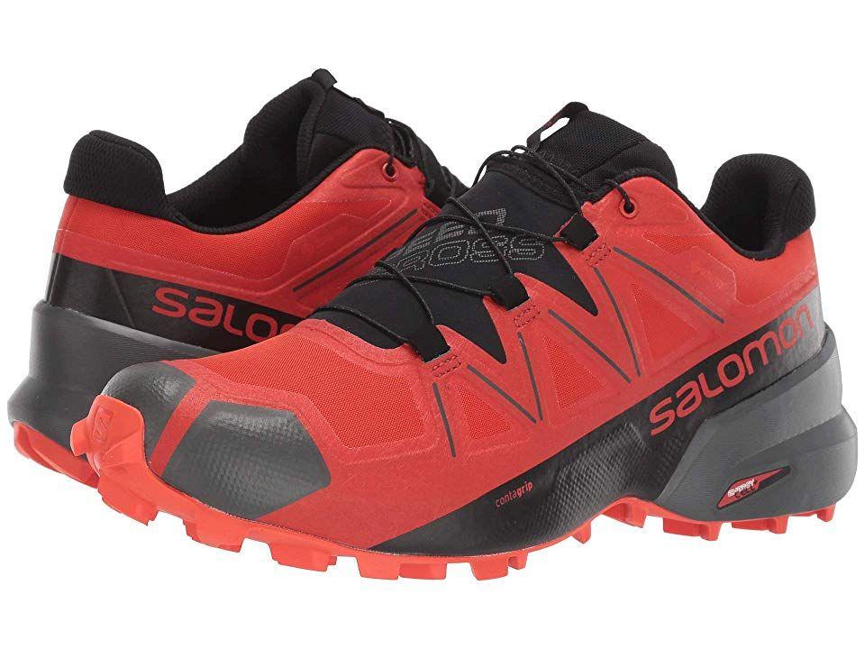 Salomon Speedcross 5 GTX Valiant PoppyBlackCherry Tomato