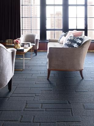Carpet_Environmental_Interface carpet tile, Equal Measure_interface makes sustainable, ecologically friendly carpet