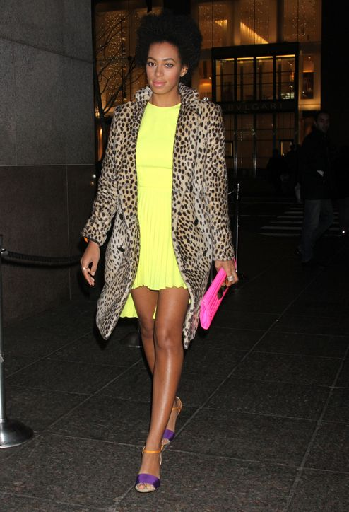 The best celeb outfit ideas of 2012: Solange Knowles