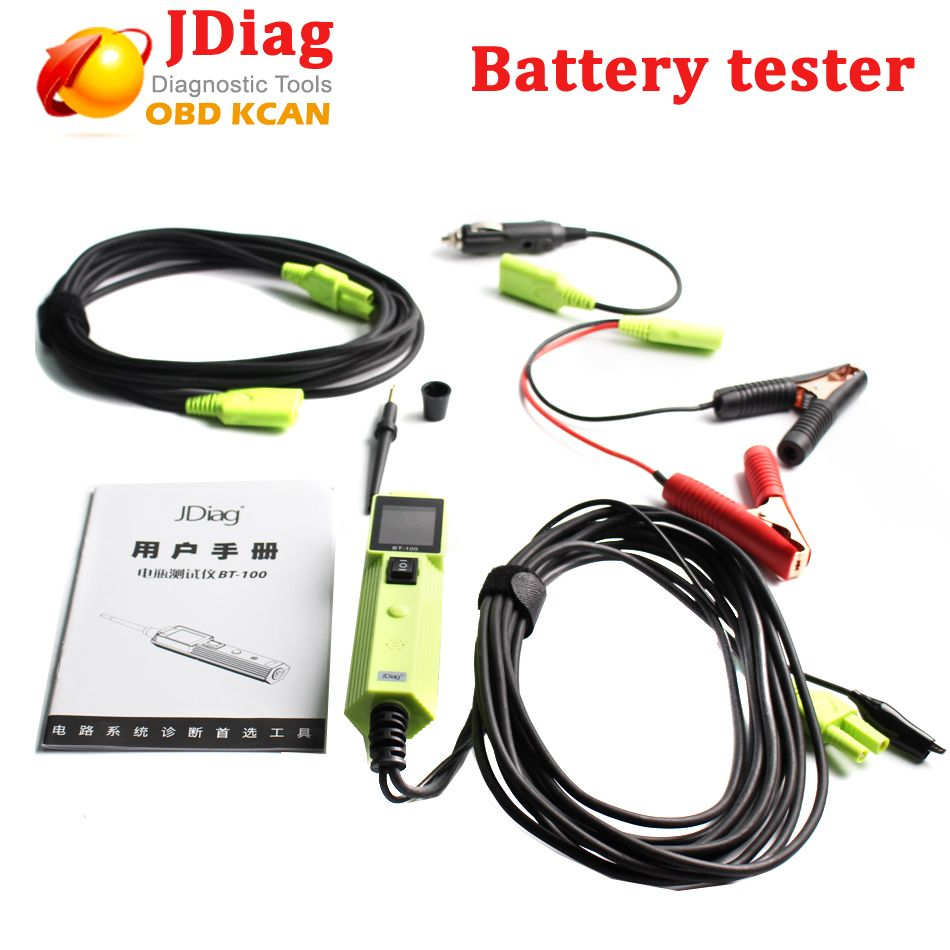 Jdiag Bt100 Battery Tester Electrical System Circuit Short Open Finder Auto Detector Car Wiretracker Repair Tool With Automotive Tools Voltage Pk Yd208