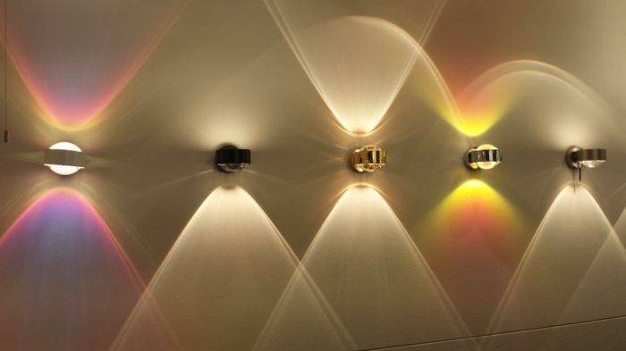 led indirekte beleuchtung decke dunkeles interior leuchte