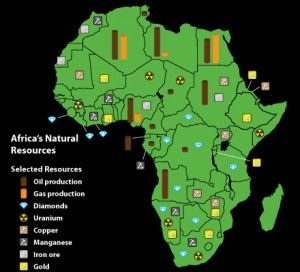 Map Of Africa Natural Resources.This Map Of Africa Highlights The Unique Resources Available Across