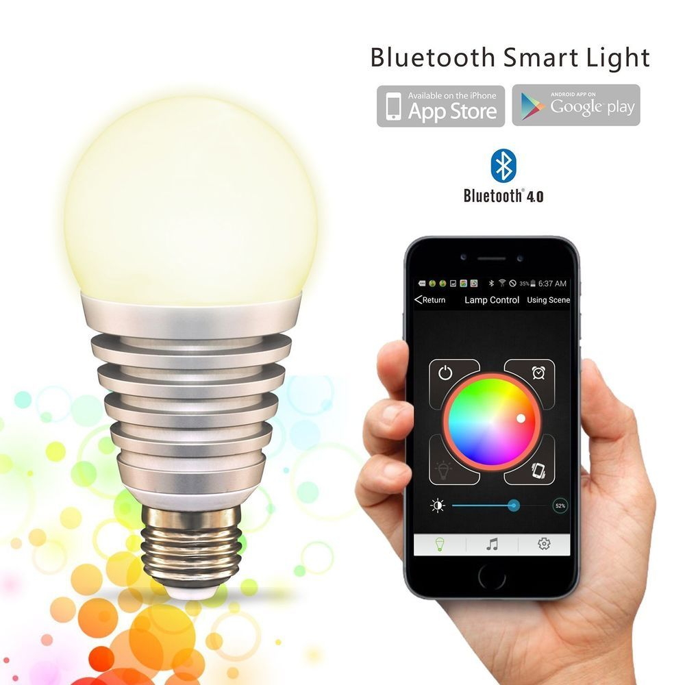 control lighting with ipad. Flux\u0026 SuperLight Bluetooth LED Smart Light Bulb - Smartphone Controlled Dimmable Multicolored Color Changing Lights Works With IPhone, IPad, Android Phone Control Lighting Ipad