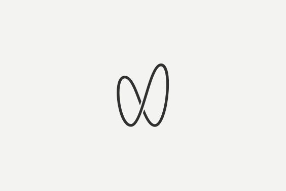 Corporate identity for https://woanna.com. Clearly infinity. Clearly a w. Hidden Basket.