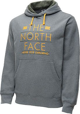 d5d1264ee6e7 The North Face Men's Banner Pullover Hoodie Never Stop Exploring ...