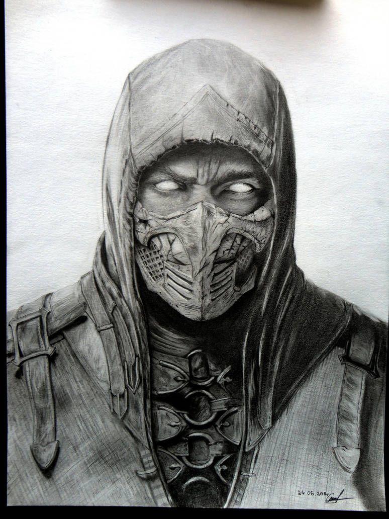 Mkx Scorpion By Lorandlee Mortal Kombat Art Scorpion Mortal