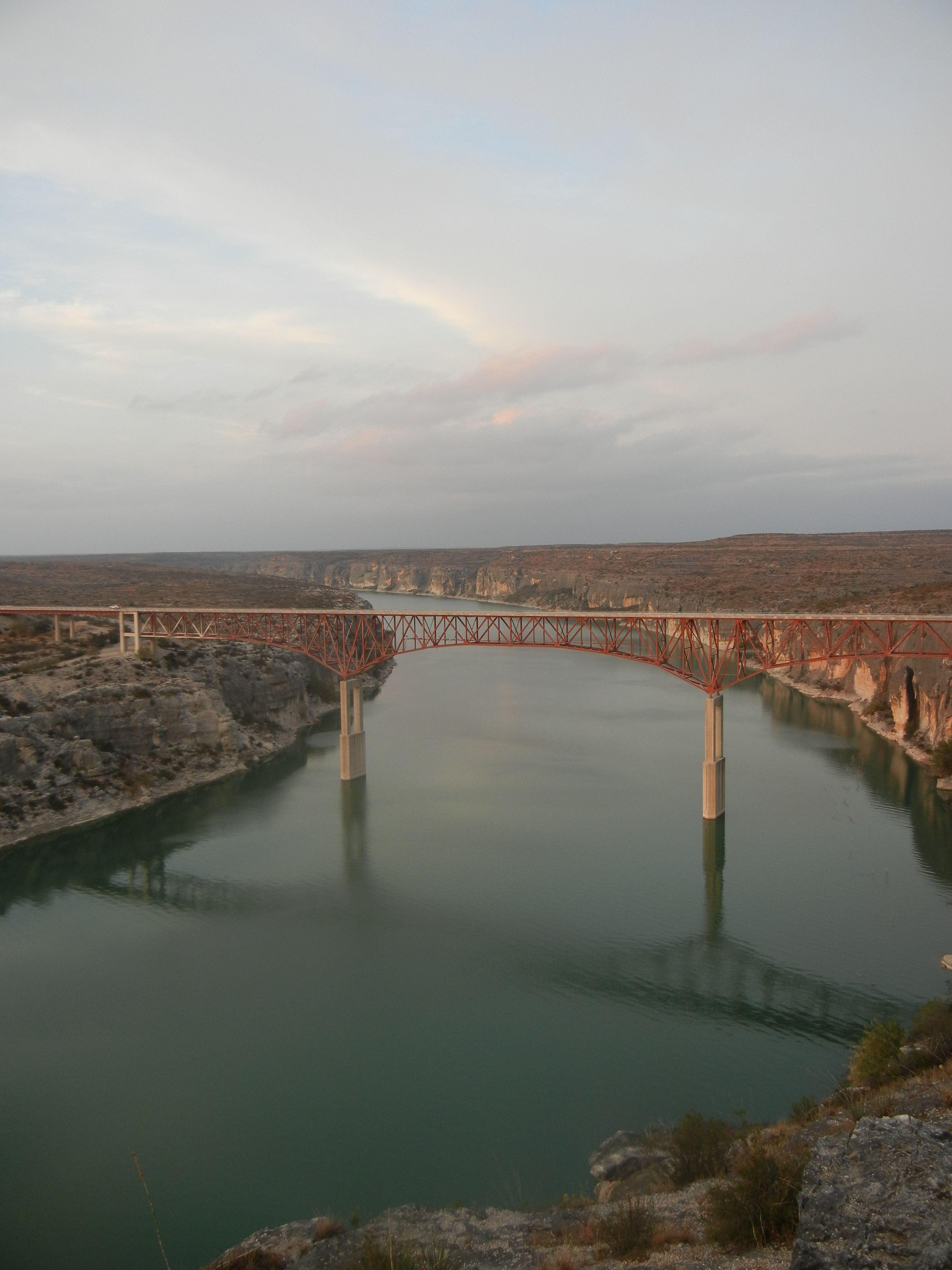 Crossing The Pecos River Outside Del Rio Tx Favorite