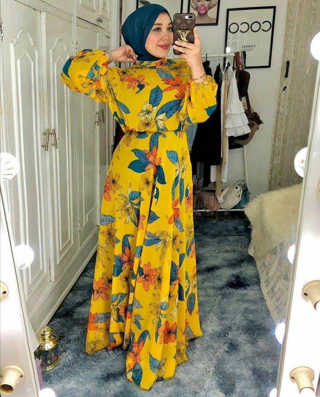 صور فساتين محجبات خروج Fashion Dubai Fashion Maxi Dress