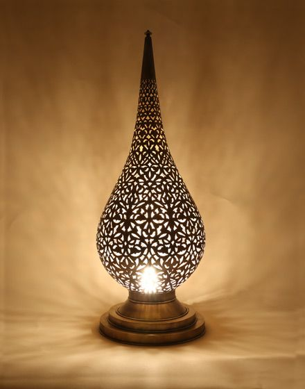 moroccan flame style for table lamps