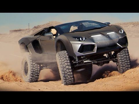 Off Road Supercars Aventador S Laferrari Spyder Mclaren