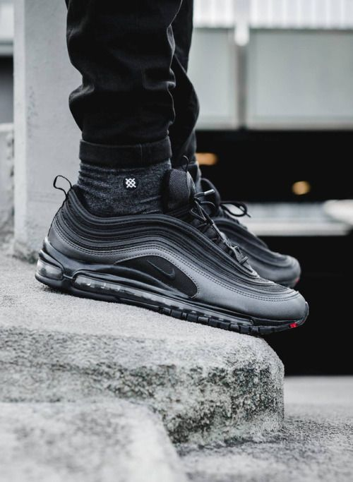 wholesale dealer 660f2 f0871 Release Reminder  Undefeated x Nike Air Max 97 Black   Curvy petite fashion    Air max 97, Air max sneakers, Nike air max