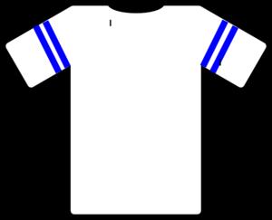 Blank American Football Jersey Clipart