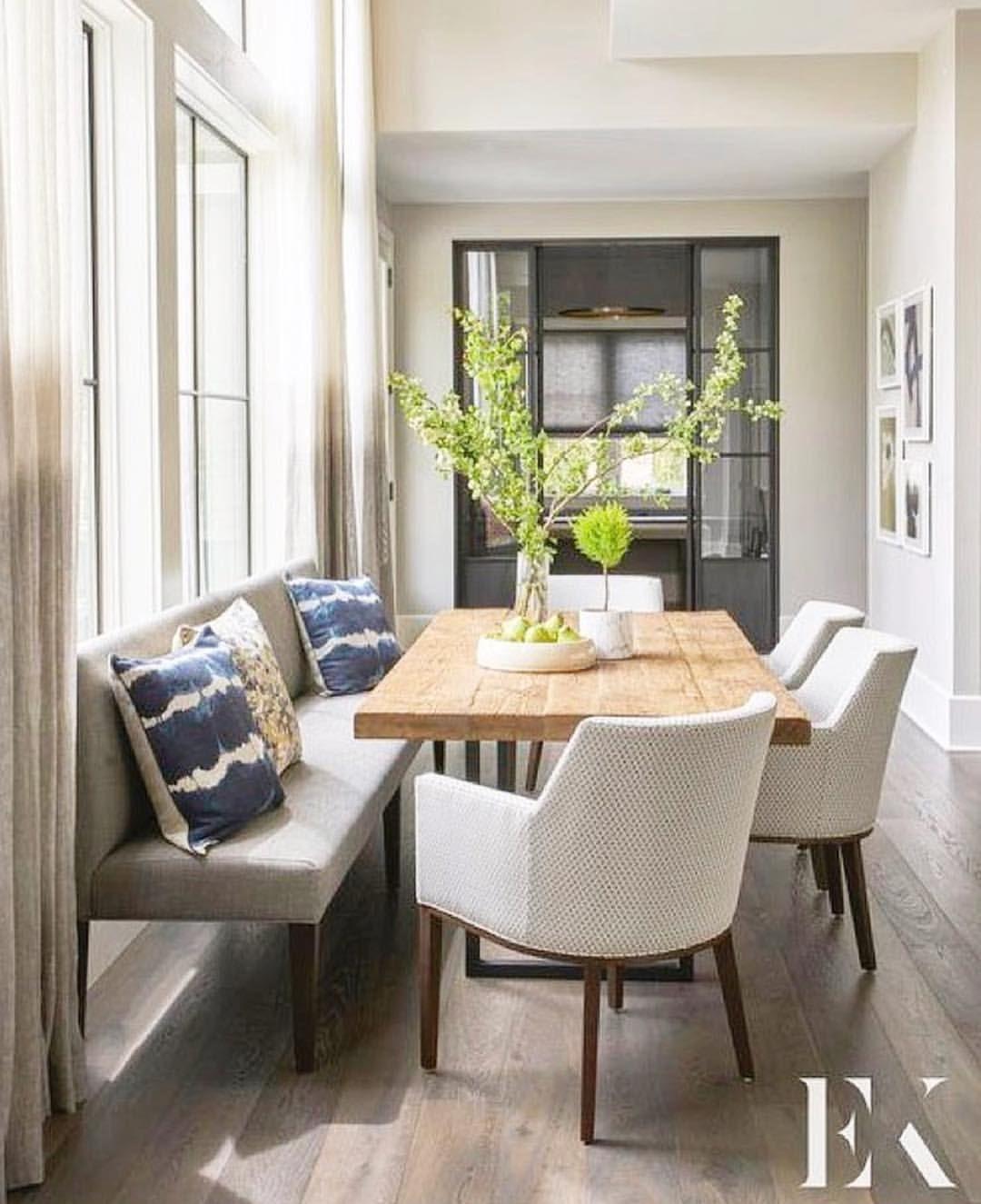 Küchendesign neuer stil window seats  dining room  pinterest  comedores el comedor y