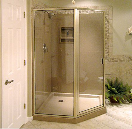 walk-in fiberglass shower stalls … | Fiberglass Shower/Tub ...