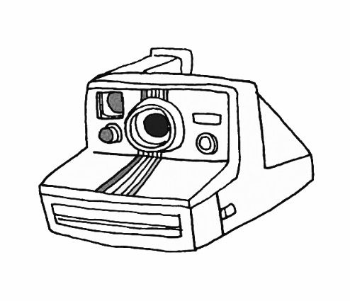 2015 Polaroid Camera Coloring Coloring Pages