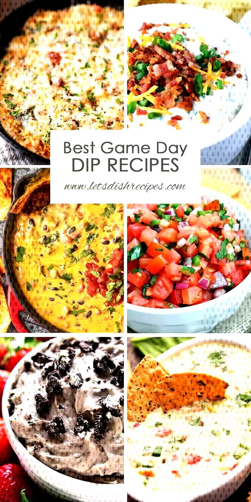 Best Game Day Dip Recipes   Let's Dish Recipes Best Game Day Dip Recipes: The best delicious dips,