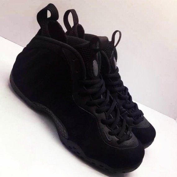 hot sale online d829d a8141 black suede foamposite release date 02 570x570 Nike Air Foamposite One  Black Suede Release Date