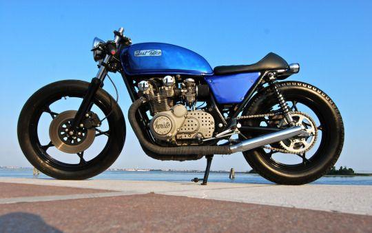 Suzuki GS500 CafeRacer by Just Bike