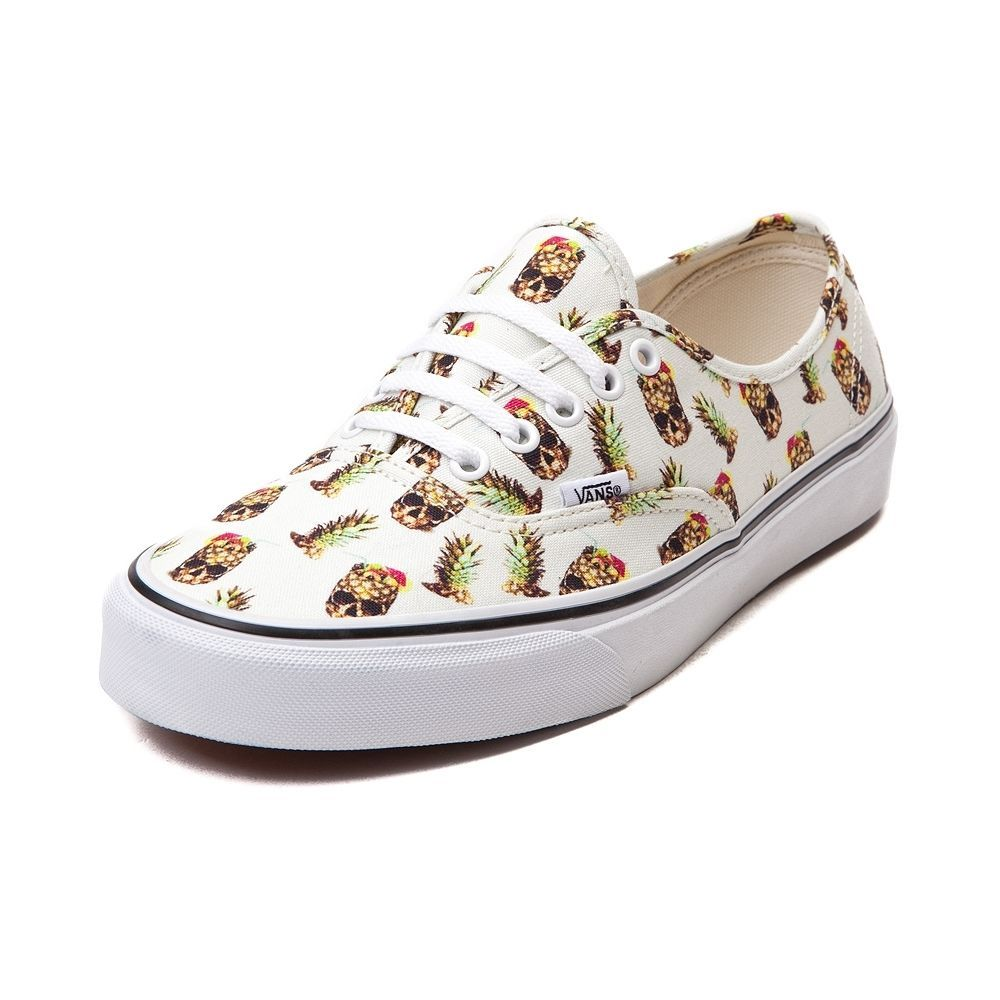 1a220ecebe NEW Vans Authentic Pineapple Skulls Skate Shoe Mens Womens Print Colors