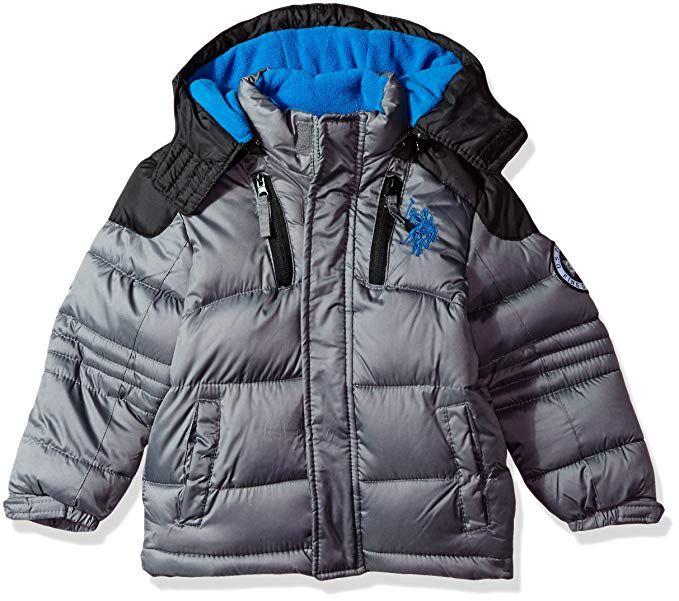 03067b030073 U.S. Polo Assn. Boys  Bubble Jacket (More Styles Available ...