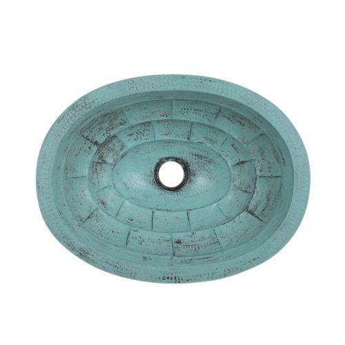 Oval Bath Rug Pattern