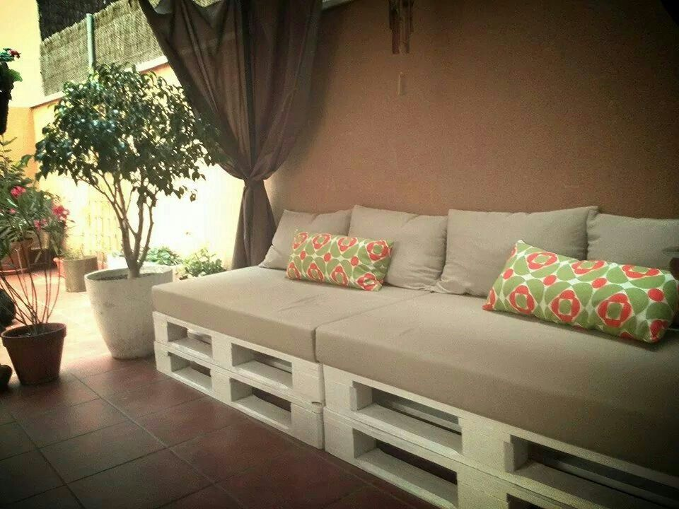 sofa palets exterior rinconcito chill out