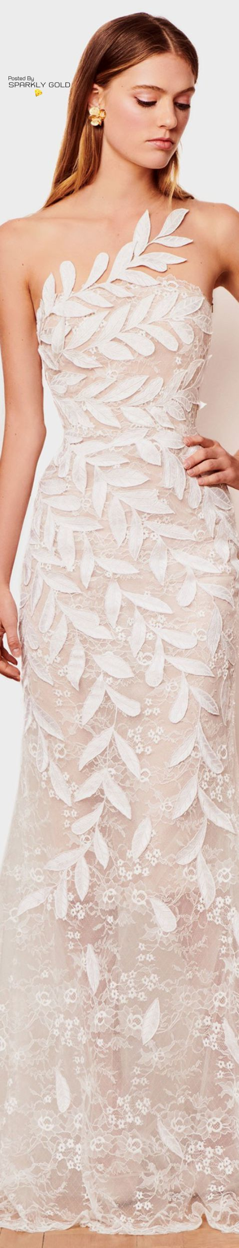 Oscar de la renta fall bridal night dress pinterest