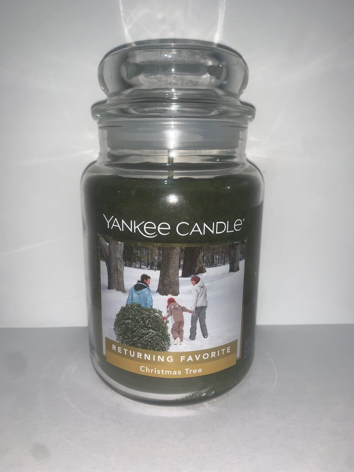 Yankee Candle Large Jar Christmas Tree 22oz Burn Time 110 150 Hours I Combine Shipping And Bundle Items I Also Yankee Candle Christmas Yankee Candle Candles